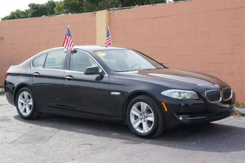 2013 BMW 5 Series for sale at Concept Auto Inc in Miami FL