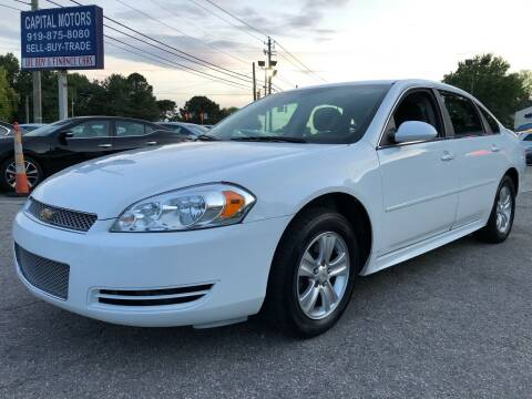 2015 Chevrolet Impala Limited for sale at Capital Motors in Raleigh NC