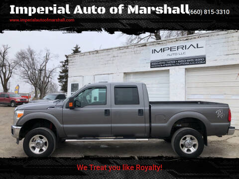 2013 Ford F-250 Super Duty for sale at Imperial Auto of Marshall - Imperial Auto Of Slater in Slater MO