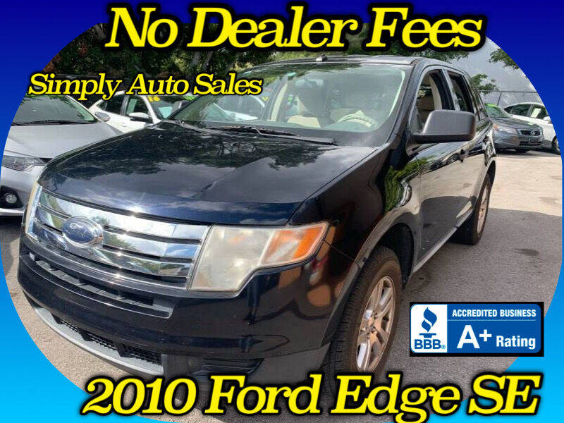 2010 Ford Edge for sale at Simply Auto Sales in Palm Beach Gardens FL