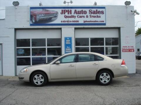 2008 Chevrolet Impala for sale at JPH Auto Sales in Eastlake OH
