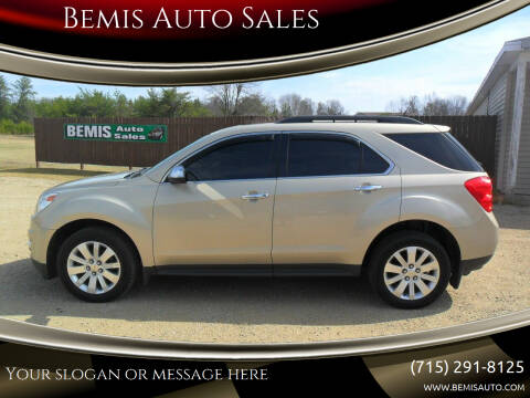 2011 Chevrolet Equinox for sale at Bemis Auto Sales in Crivitz WI