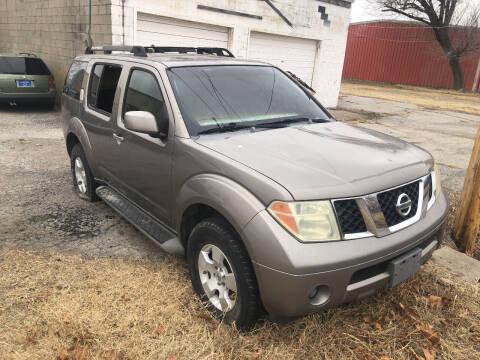 2006 Nissan Pathfinder for sale at Finish Line Motors in Tulsa OK