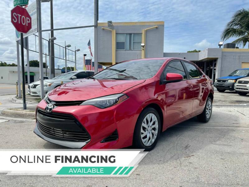 2017 Toyota Corolla for sale at Global Auto Sales USA in Miami FL