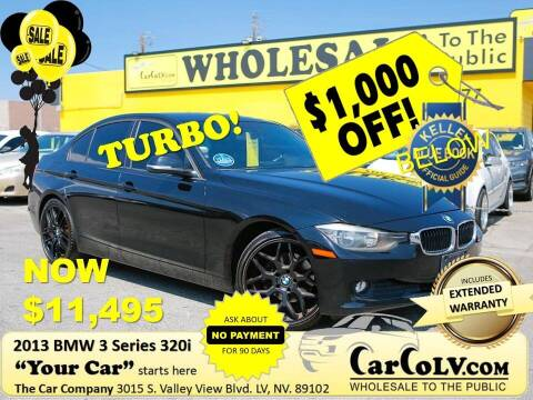 2013 BMW 3 Series for sale at The Car Company in Las Vegas NV