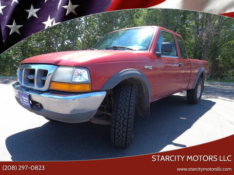 2000 Ford Ranger for sale at StarCity Motors LLC in Garden City ID