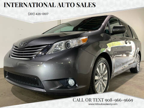 2015 Toyota Sienna for sale at International Auto Sales in Hasbrouck Heights NJ