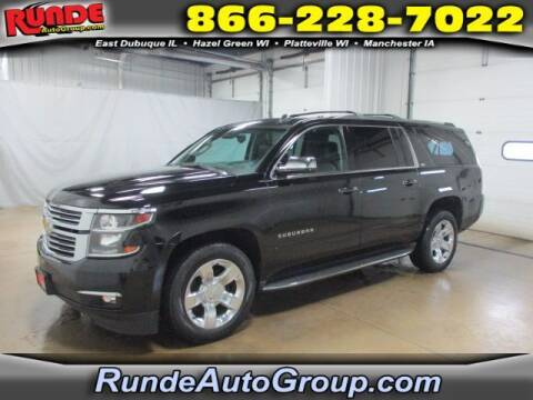 2015 Chevrolet Suburban for sale at Runde Chevrolet in East Dubuque IL