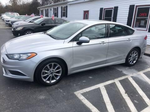 2017 Ford Fusion for sale at NextGen Motors Inc in Mount Juliet TN
