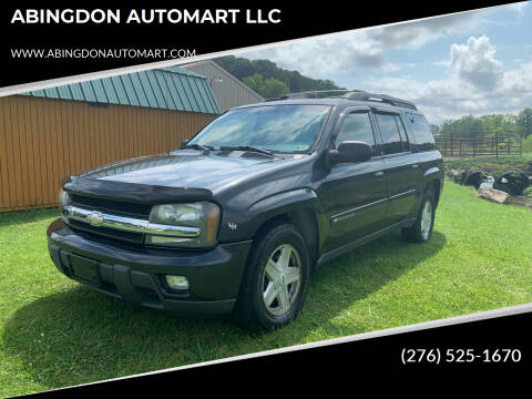 2003 Chevrolet TrailBlazer for sale at ABINGDON AUTOMART LLC in Abingdon VA