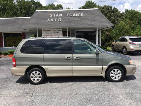 2004 Kia Sedona for sale at STAN EGAN'S AUTO WORLD, INC. in Greer SC