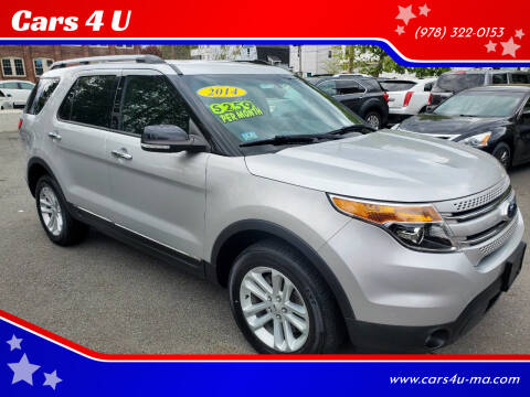 2014 Ford Explorer for sale at Cars 4 U in Haverhill MA