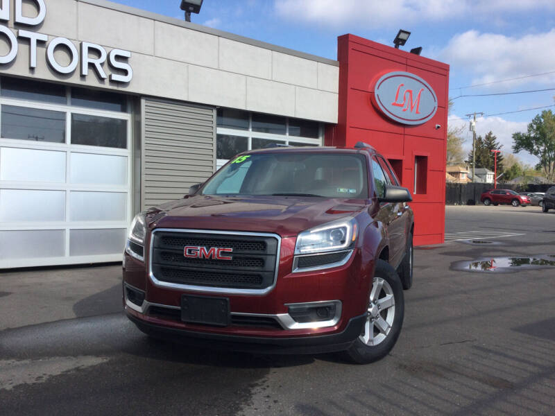2015 GMC Acadia for sale at Legend Motors of Waterford - Legend Motors of Detroit in Detroit MI