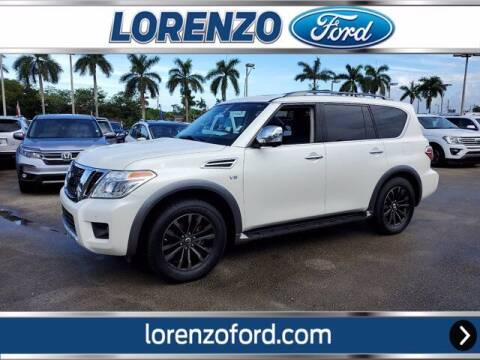 2018 Nissan Armada for sale at Lorenzo Ford in Homestead FL