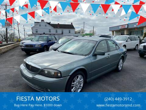 2005 Lincoln LS for sale at FIESTA MOTORS in Hagerstown MD