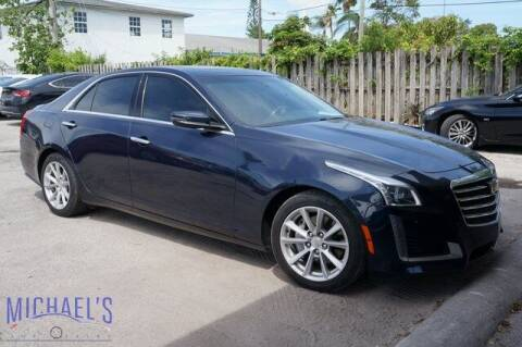 2017 Cadillac CTS for sale at Michael's Auto Sales Corp in Hollywood FL