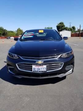 2018 Chevrolet Malibu for sale at Mega Motors Inc. in Stockton CA
