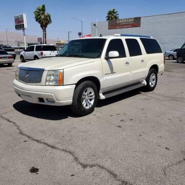2006 Cadillac Escalade ESV for sale at TJ Motors in Las Vegas NV
