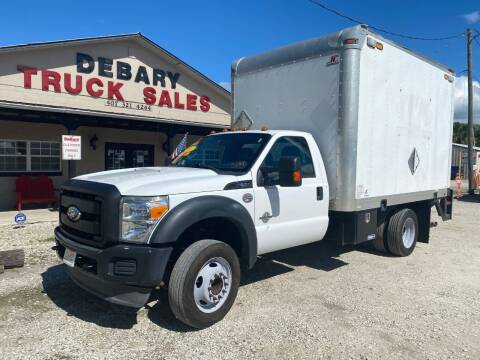 2012 Ford F550 SUPER DUTY for sale at DEBARY TRUCK SALES in Sanford FL