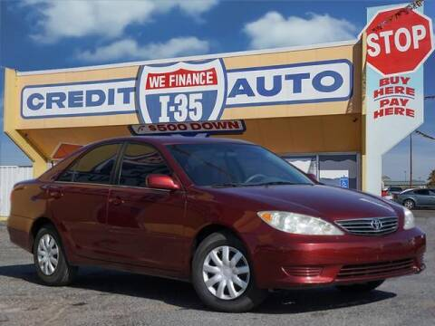 2005 Toyota Camry for sale at Buy Here Pay Here Lawton.com in Lawton OK