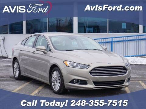 2015 Ford Fusion Energi for sale at Work With Me Dave in Southfield MI