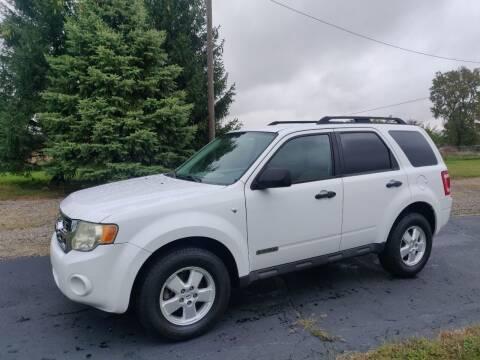 2008 Ford Escape for sale at Carmart Auto Sales Inc in Schoolcraft MI