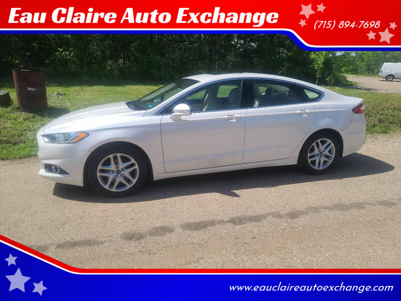2014 Ford Fusion for sale at Eau Claire Auto Exchange in Elk Mound WI