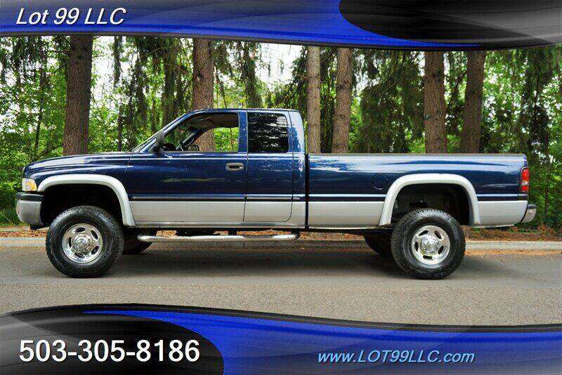 2001 Dodge Ram Pickup 2500 for sale at LOT 99 LLC in Milwaukie OR