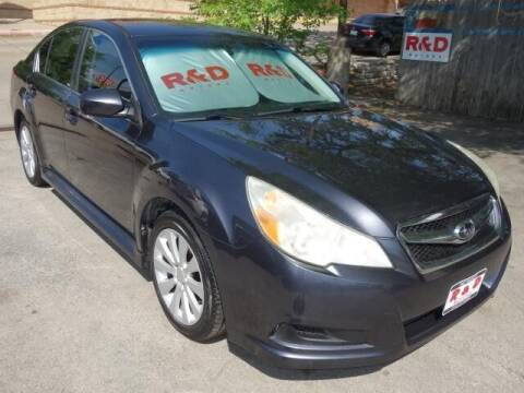 2011 Subaru Legacy for sale at R & D Motors in Austin TX