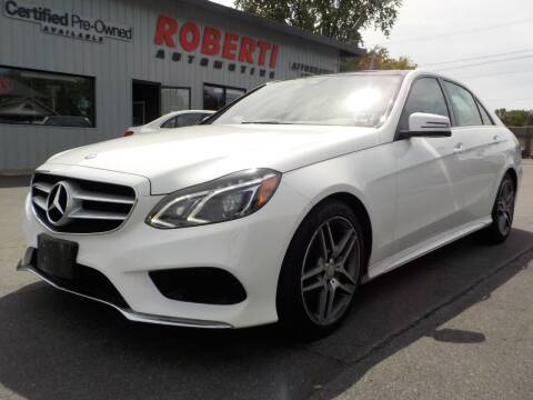 2014 Mercedes-Benz E-Class for sale at Roberti Automotive in Kingston NY