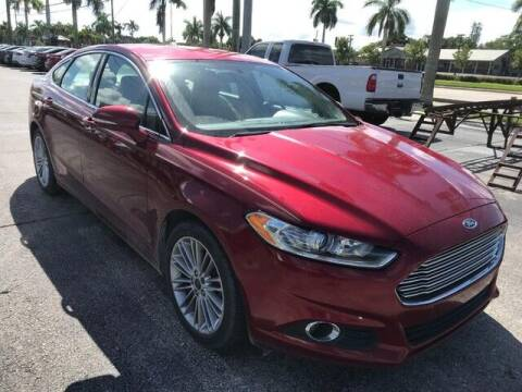 2016 Ford Fusion for sale at Denny's Auto Sales in Fort Myers FL