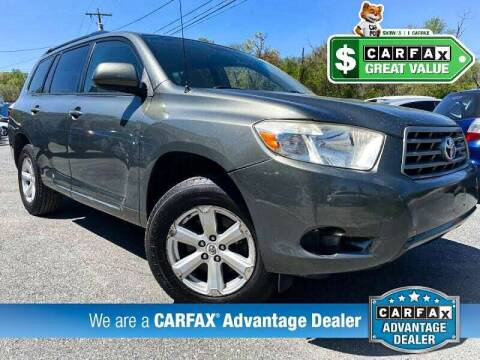 2008 Toyota Highlander for sale at High Rated Auto Company in Abingdon MD
