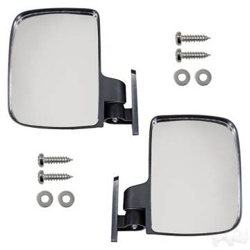 Rhox UTV Style Side Mount Mirror for sale at 70 East Custom Carts Atlantic Beach - parts and accessories in Atlantic Beach NC