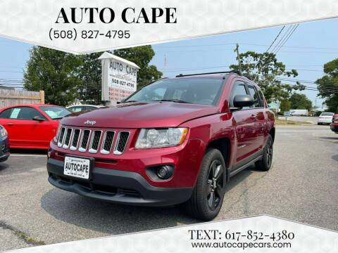 2013 Jeep Compass for sale at Auto Cape in Hyannis MA