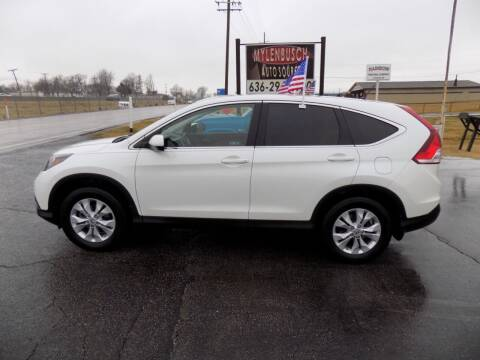 2012 Honda CR-V for sale at MYLENBUSCH AUTO SOURCE in O` Fallon MO