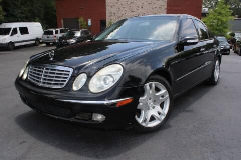 2003 Mercedes-Benz E-Class for sale at Atlanta Unique Auto Sales in Norcross GA