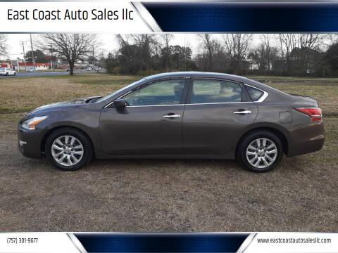 2014 Nissan Altima for sale at East Coast Auto Sales llc in Virginia Beach VA