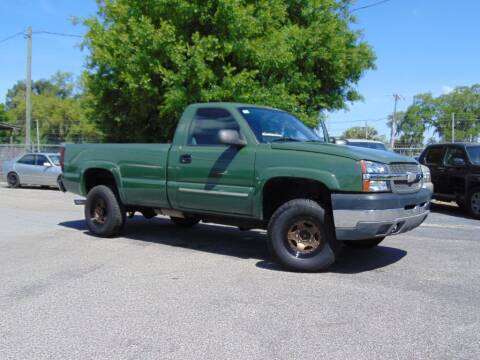2004 Chevrolet Silverado 2500HD for sale at Ratchet Motorsports in Gibsonton FL