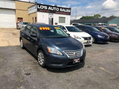 2013 Nissan Sentra for sale at Lo's Auto Sales in Cincinnati OH