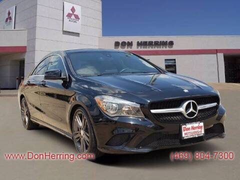 2015 Mercedes-Benz CLA for sale at DON HERRING MITSUBISHI in Irving TX
