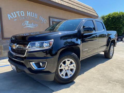 2018 Chevrolet Colorado for sale at Auto Hub, Inc. in Anaheim CA