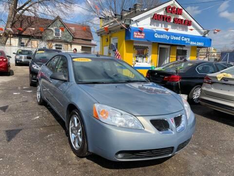 2008 Pontiac G6 for sale at C & M Auto Sales in Detroit MI
