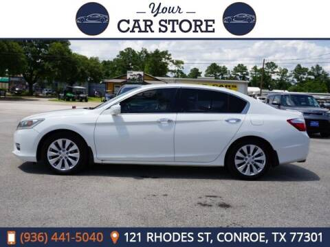 2013 Honda Accord for sale at Your Car Store in Conroe TX