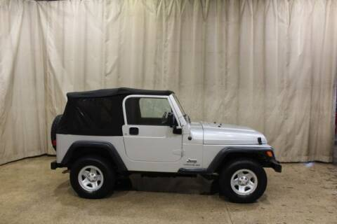 2006 Jeep Wrangler for sale at Autoland Outlets Of Byron in Byron IL