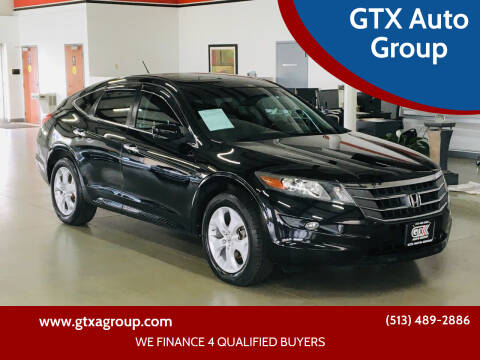 2012 Honda Crosstour for sale at GTX Auto Group in West Chester OH