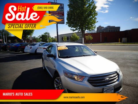 2013 Ford Taurus for sale at MARIO'S AUTO SALES in Mount Clemens MI