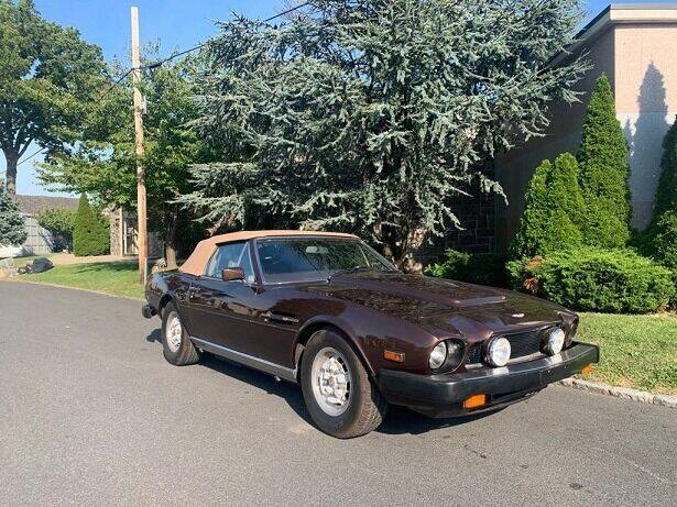 1982 Aston Martin V8 Volante for sale at Gullwing Motor Cars Inc in Astoria NY
