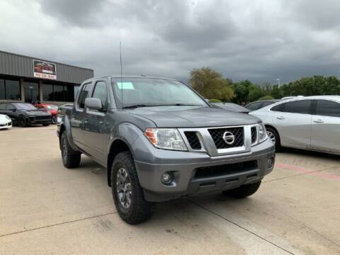 2018 Nissan Frontier for sale at KIAN MOTORS INC in Plano TX