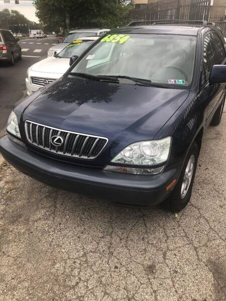 2002 Lexus RX 300 for sale at Z & A Auto Sales in Philadelphia PA