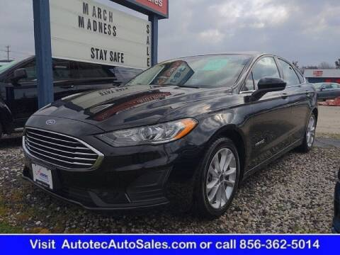 2019 Ford Fusion Hybrid for sale at Autotec Auto Sales in Vineland NJ